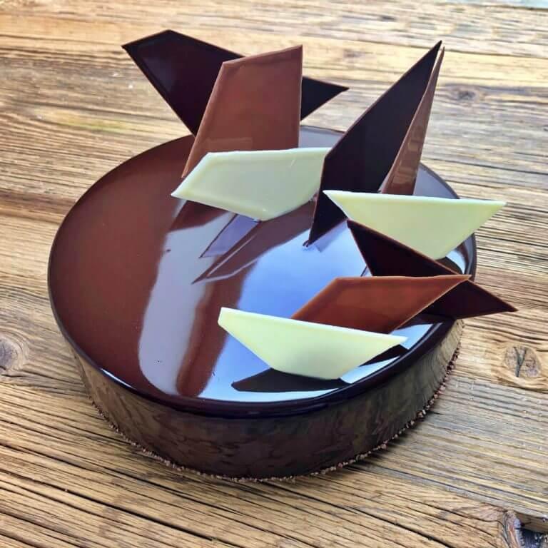 tort trio czekoladowe